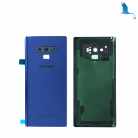 Back cover batterie case with lens - Blue - Note 9 - N960F - qor