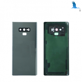 Back cover batterie case with lens - Grey - Note 9 - N960F - qor