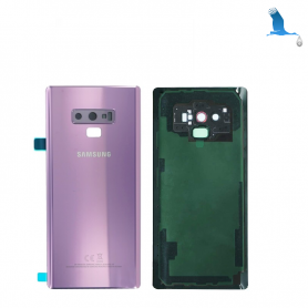 Back cover batterie case with lens - Purple - Note 9 - N960F - qor