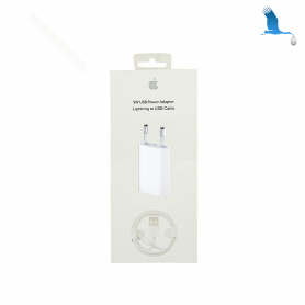 Lightning USB cable & Charger 220V - 1m - qor