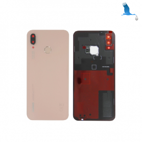 Back cover glass with lens - Huawei P20 Lite (ANE-LX1) - Service Pack