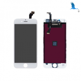 Display and touchscreen - White - iPhone 6 - oem
