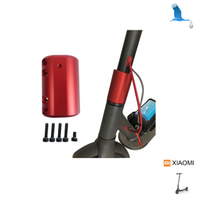 Rigid bar fixator - Red - Xiaomi Electrique Scoter M365 & M365 Pro