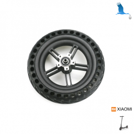 Rear wheel and solid tire with holes  - Xiaomi Electrique Scoter M365 & M365 Pro