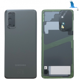 S20 - 5G - Back Cover Glass - Grey - GH82-21576A - Service pack - qor