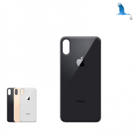 Rear Glass cover - Large hole - iPhone XS - oem