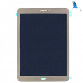 LCD Display + Touchscreen - Gold - Samsung Galaxy Tab S2 9.7 SM-T810 /SM-T815 - GH97-17729C