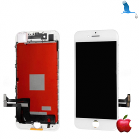 LCD Display and Touchscreen - White - iPhone 7 - Original - qor