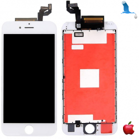 Display and Touchscreen - White - iPhone 6S+ qor