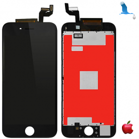 Display and Touchscreen - Black - iPhone 6S+ qor
