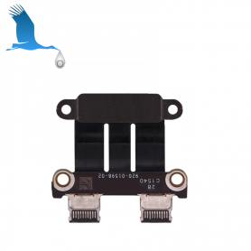 USB-C Charger Connector Board - MacBook Pro - A1989 / A1990 / A1706 / A1707 - 820-01141-04 - ori