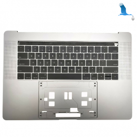 Top case with Touch Bar - Silver - Keyboard CH - Macbook Pro A1707