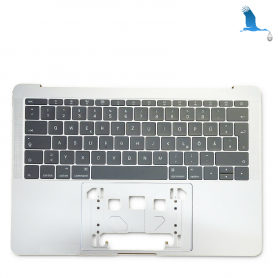 Top case - Silver - Keyboard CH - Macbook Pro A1708