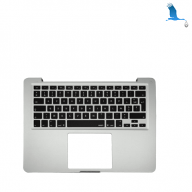 Top case - Silver - Clavier Suisse - Macbook Pro A1278 11-12