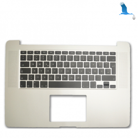 Top case - Silver - Clavier Suisse - Macbook Pro A1378 15