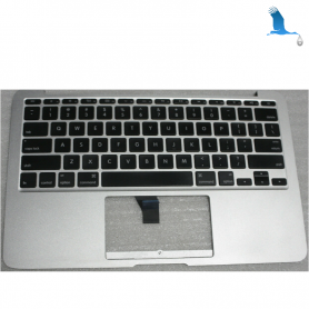 "Top case with Swiss Keyboard Layout - MacBook Air 11"" A1465 13 -17"