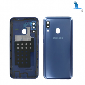 Back cover with lens- GH82-20125C Blue - A40 (A405F) - ori