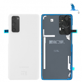 S20 - 5G - Back Cover Glass - Cloud White - GH82-21576B - Service pack - qor