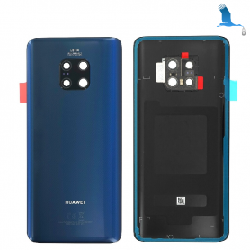 Back cover, Battery cover - 02352GDE - Blue - Huawei Mate 10 Pro - oem