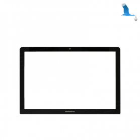 Replacement front glass - Macbook Pro 17'' A1297 - original - qor