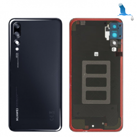 Battery cover - 02351WRR - Black - Huawei P20 Pro (CLT-L29) - service pack
