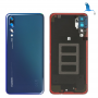 Battery cover - 02351WRT - Blue (Midnight blue) - Huawei P20 Pro (CLT-L29) - Service pack