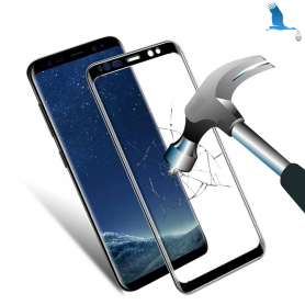 S8+ Tempered glass protection with adhesive - Samsung Galaxy S8+ (G955)