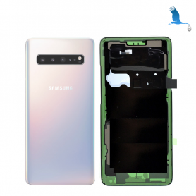Back Cover - Crown Silver - GH82-19500A - Galaxy S10 5G - G977 - service pack